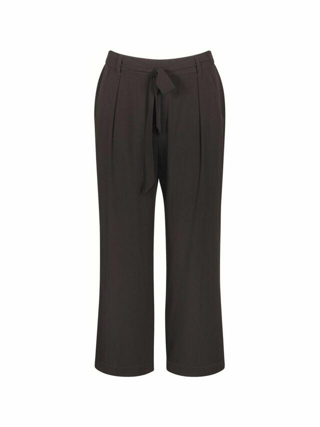 Dámské kalhoty Mix & Match High Waist Cropped Trousers - Triumph - 038 - černá (0004)