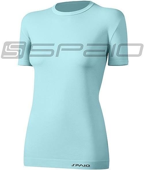 Dámské tričko T-Shirt Spaio Relieve W01 - L/XL - sv.modrá