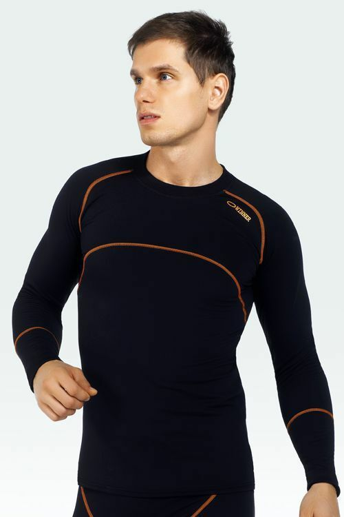 Pánské tričko Compresion III - S - černá