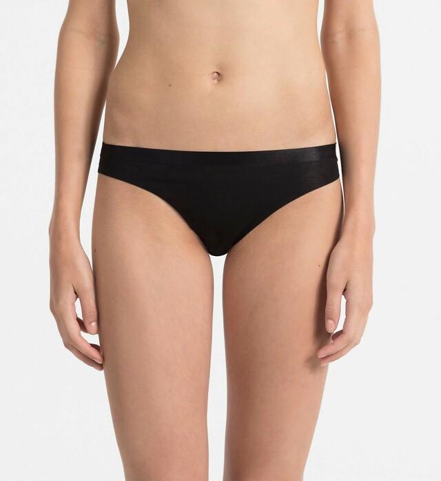 Tanga QF1950E černá - Calvin Klein - S - černá