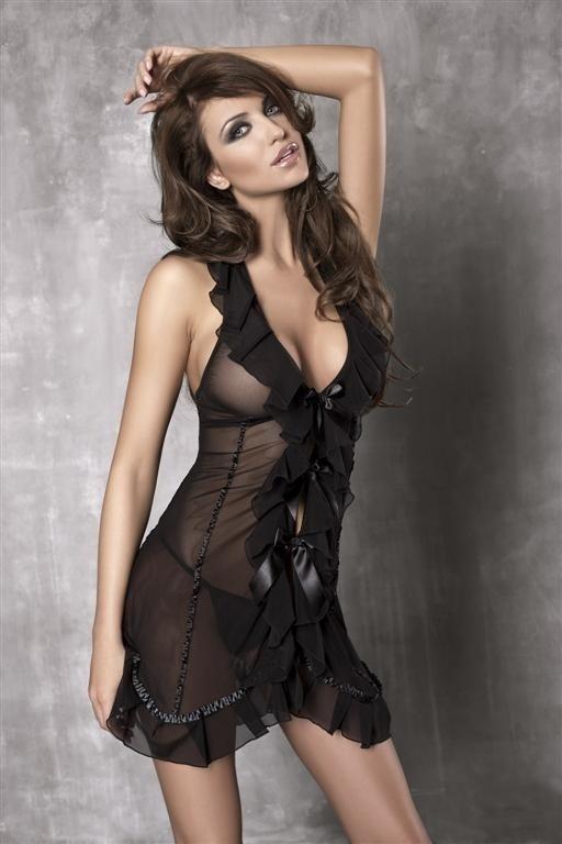 Košilka Anais Seduce me - M - černá