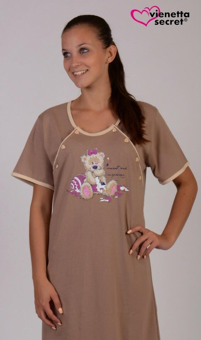 Dámská noční košile mateřská Malý méďa