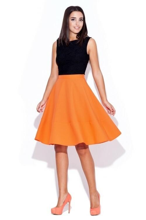 Dámská sukně K055 orange
