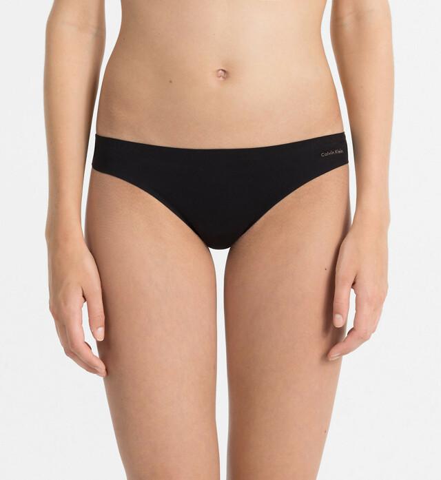 Tanga Perfectly Fit F3842E černá T|O Calvin Klein - S - černá