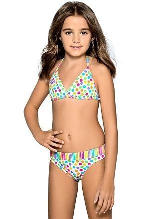 Dívčí plavky Viky puntíkované