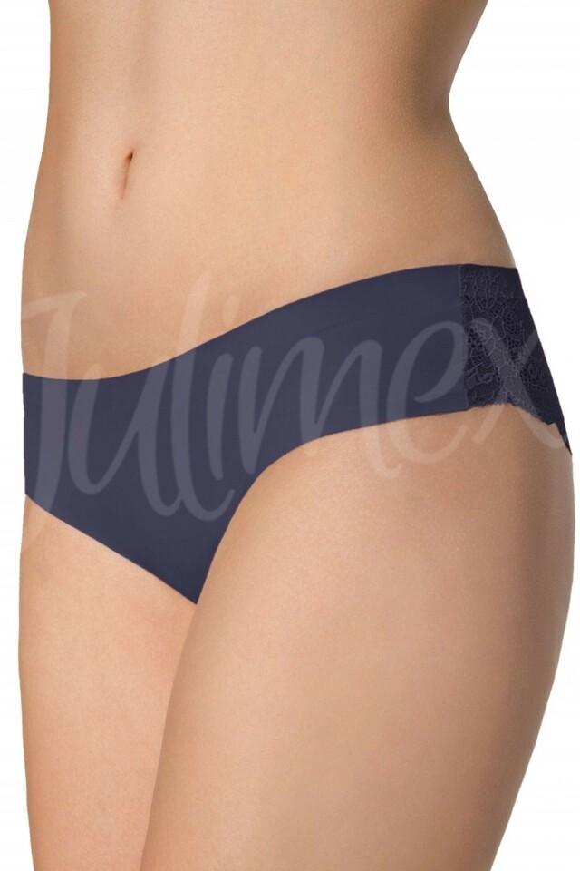 Dámské kalhotky Tanga blue - XL - tmavě modrá