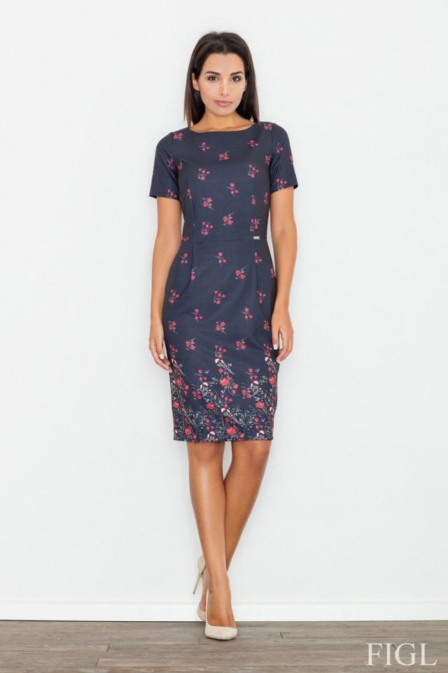 Dámské šaty M536-62 - L - viz foto