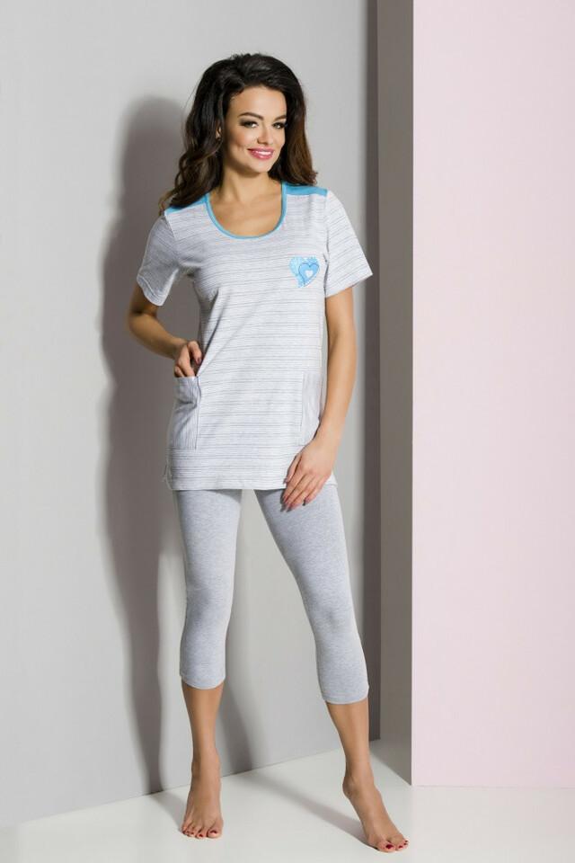 Dámské pyžamo Regina 825 S-XL kr/r