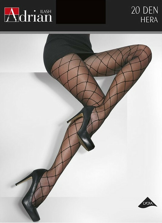 Punčochové kalhoty Adrian Hera 20 den 5-XL - 5-XL - nero