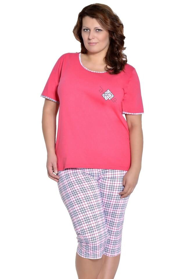 Dámské pyžamo Ela růžové - XXL