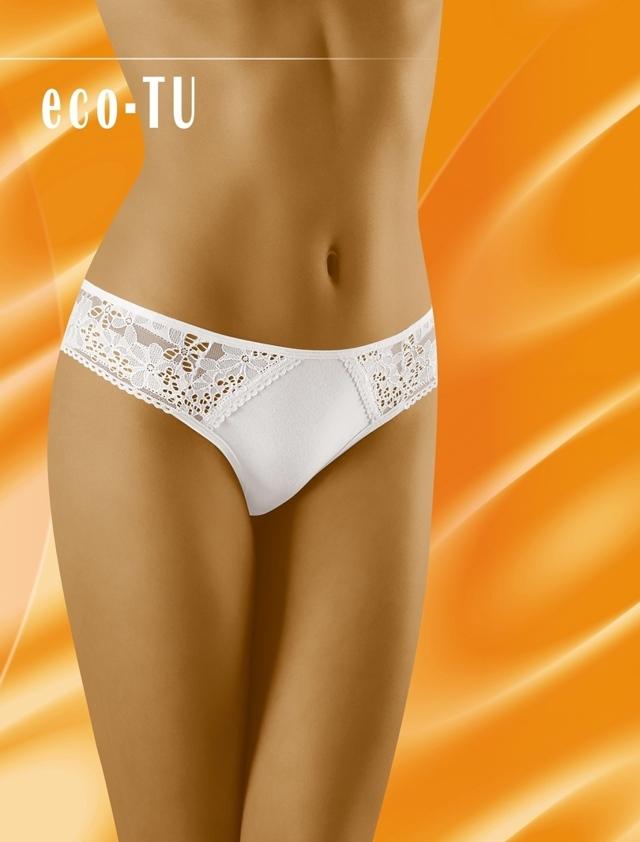 Dámské kalhotky ECO-TU - WOLBAR - XL - bílá