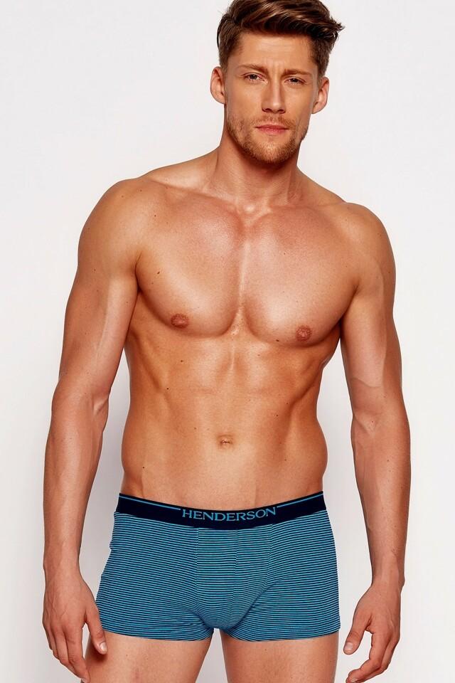 Pánské boxerky 35408 blue