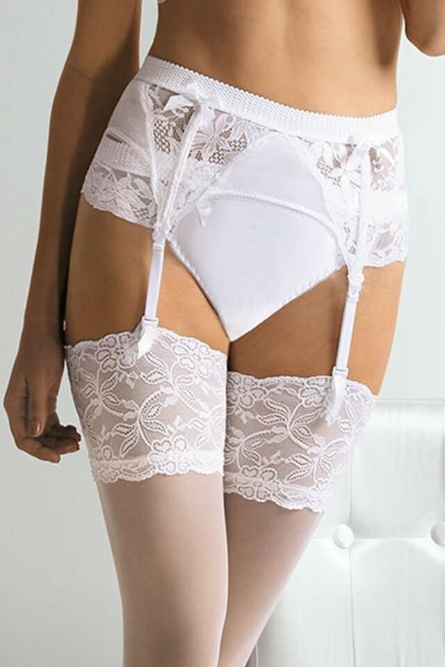 Dámské kalhotky 1314 - XL - bílá