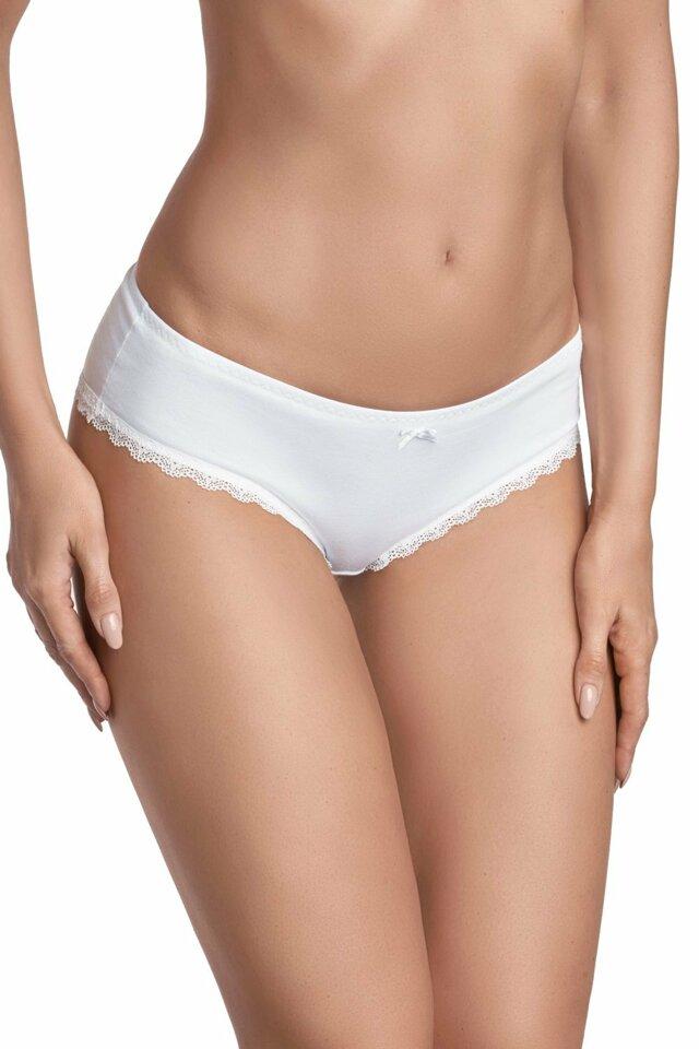 Dámské kalhotky 002 white - L - bílá