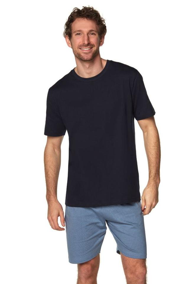 Pánské pyžamo Airon černé se vzorem - XXL