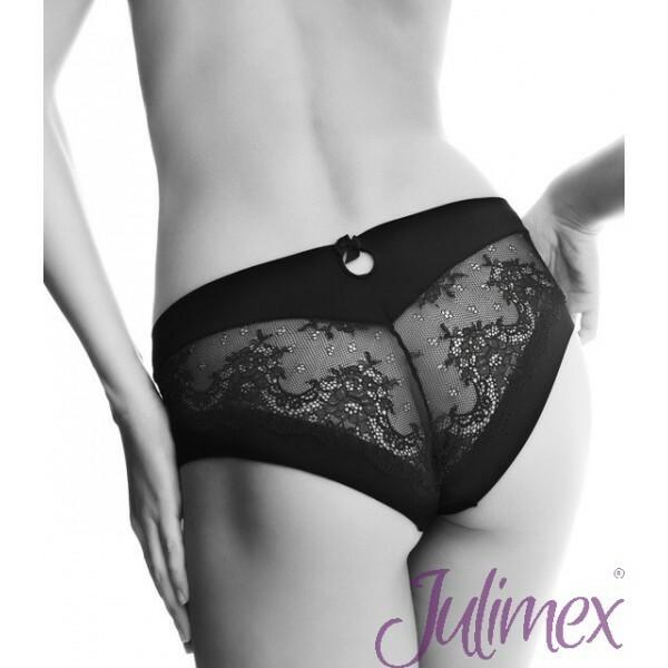 Dámské kalhotky Kiss Panty Julimex - M - černá