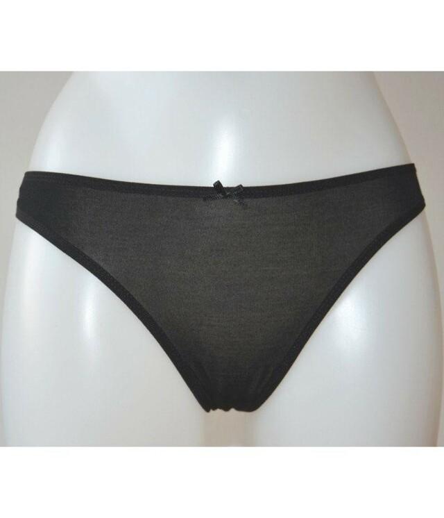 Dámské kalhotky Alex 4095Q - Donella - M - černá