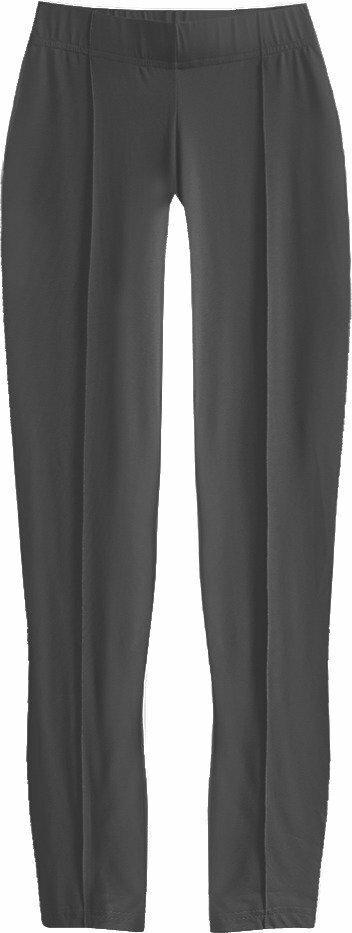 Lesklé černé legíny (410ART) - XL (42) - černá