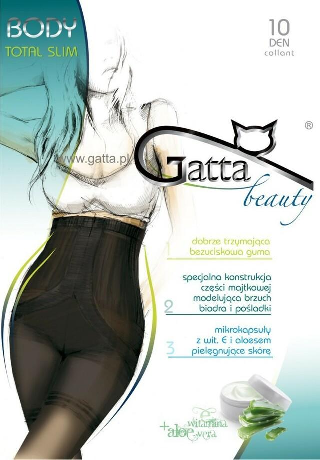 BODY TOTAL SLIM - Dámské tvarovací punčochové kalhoty - GATTA - 3-M