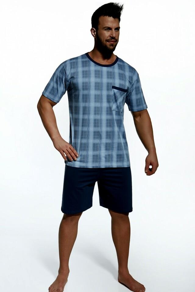 Pánské pyžamo 312/09 - M - světle modrá