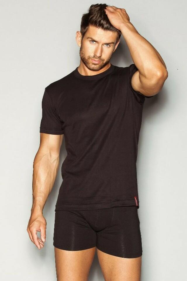 Pánské tričko 1495 black