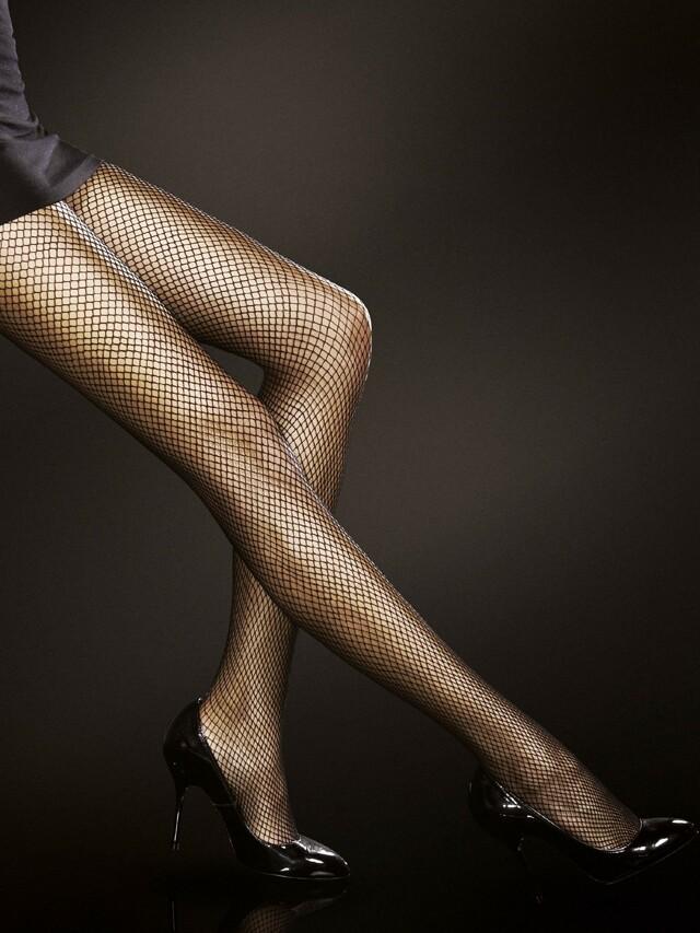 Punčochové kalhoty Fiore Greta - 2-S - black