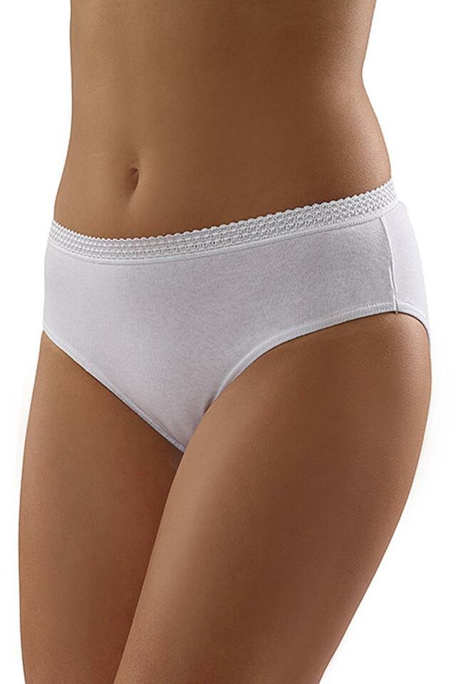 Kalhotky Italian Fashion Danusia midi 3-pak - S - bílá