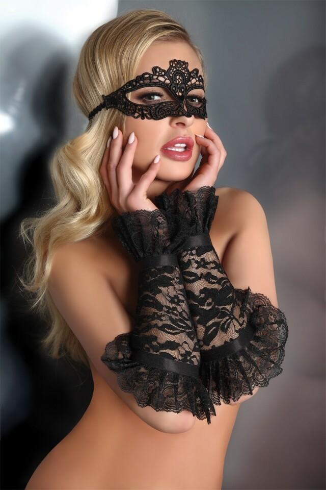 Erotické rukavičky Gloves 13 - S/L - černá