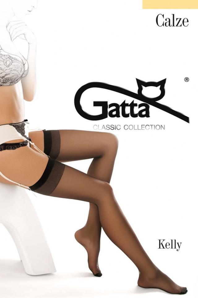 Dámské punčochy Gatta Kelly - 3-4 - béžová