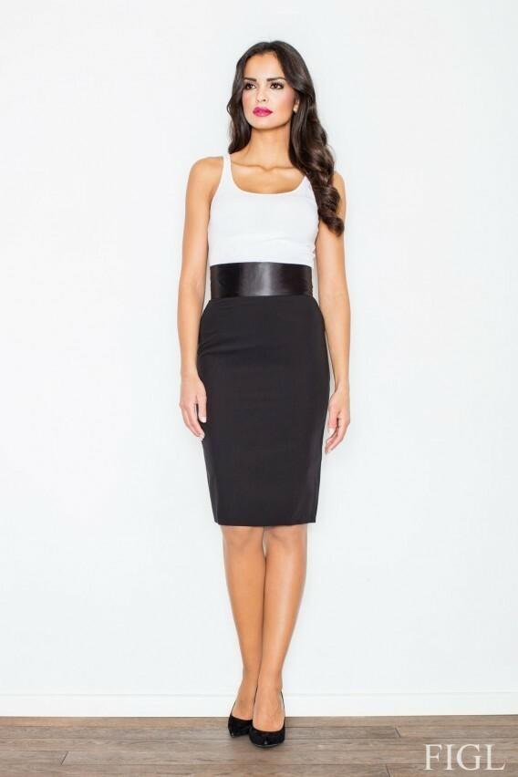 Dámská sukně Figl M160 - L - béžová