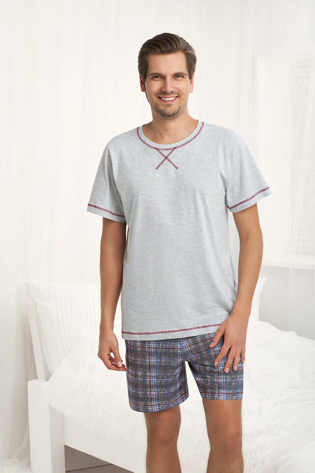Pánské pyžamo Luna 754 kr/r M-2XL