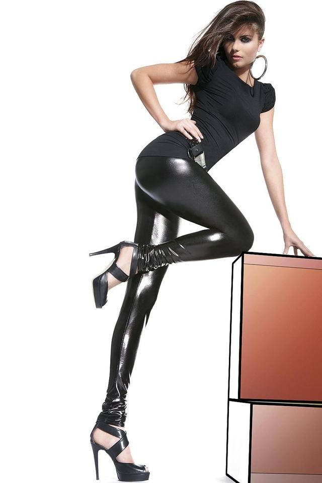 Dámské legíny Niki - M - černá