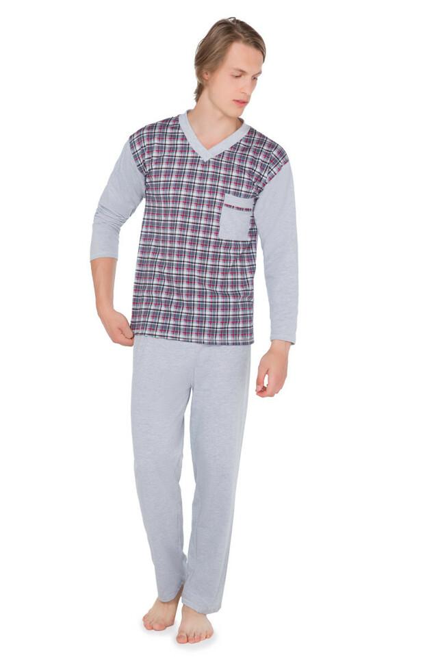 Pánské pyžamo Kuba Dżentelmen 2040 dł/r M-2XL