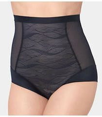 Dámské kalhotky tvarovací Airy Sensation Highwaist Panty 01 - Triumph - 42 - černá