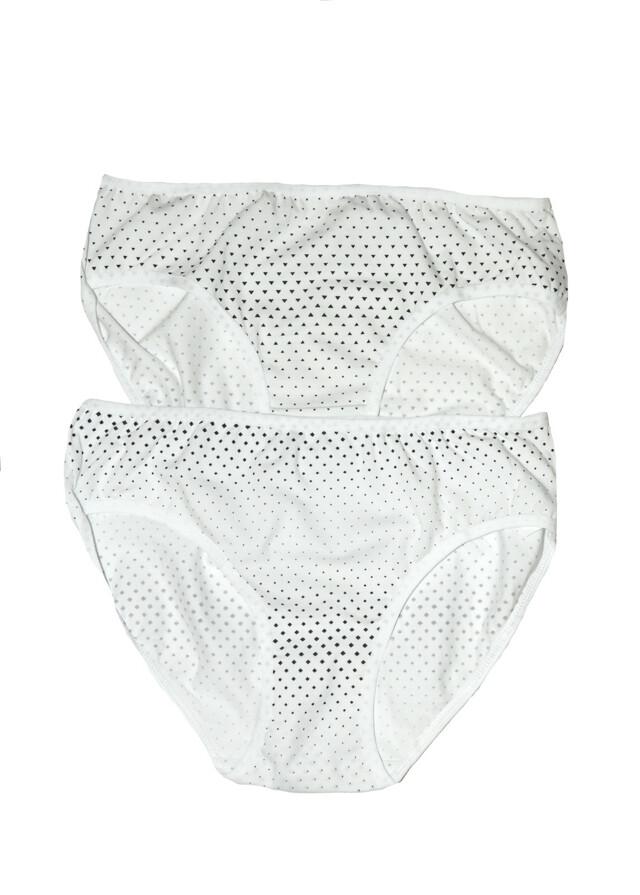 Klasické kalhotky Donella 31357 /WZ.78 A'2 - M - bílá
