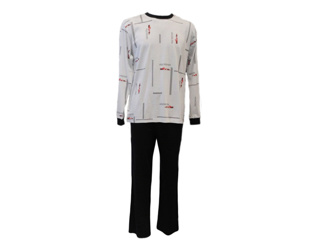 Pánské pyžamo Lu Saly 4 Dr - Favab - L - bílá