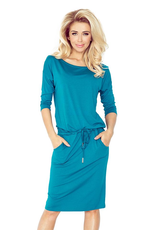 Modré sportovní šaty 13-63 - XXL