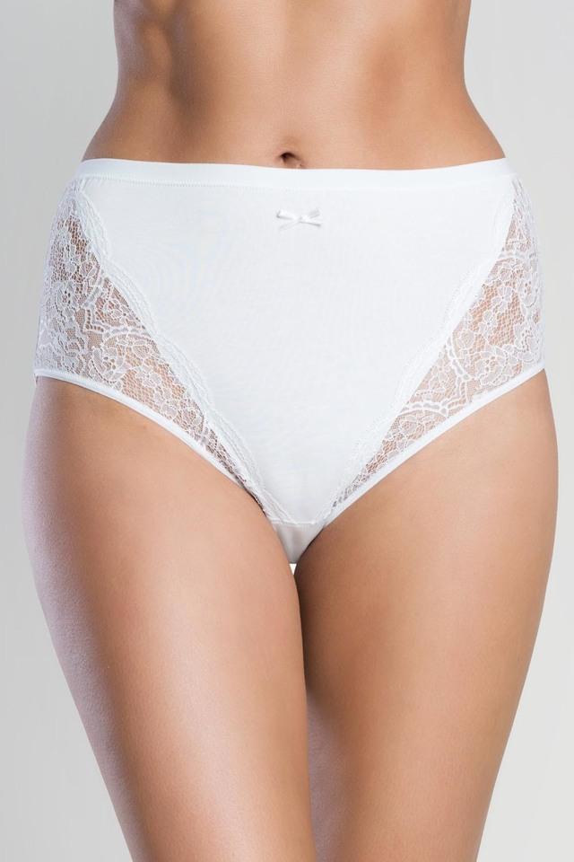 Dámské kalhotky Italian Fashion Wiktoria maxi - M - bílá 83671b412d