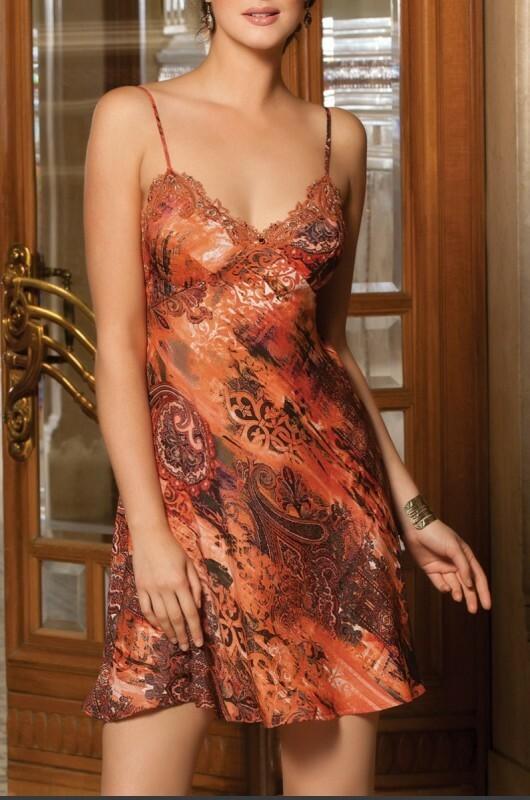 Dámská košilka ALC1060 - Lise Charmel - L - terracotta