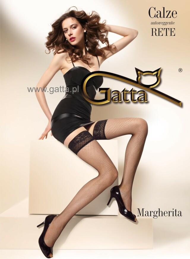 Punčochy Gatta |Margherita nr.01 kabaretka