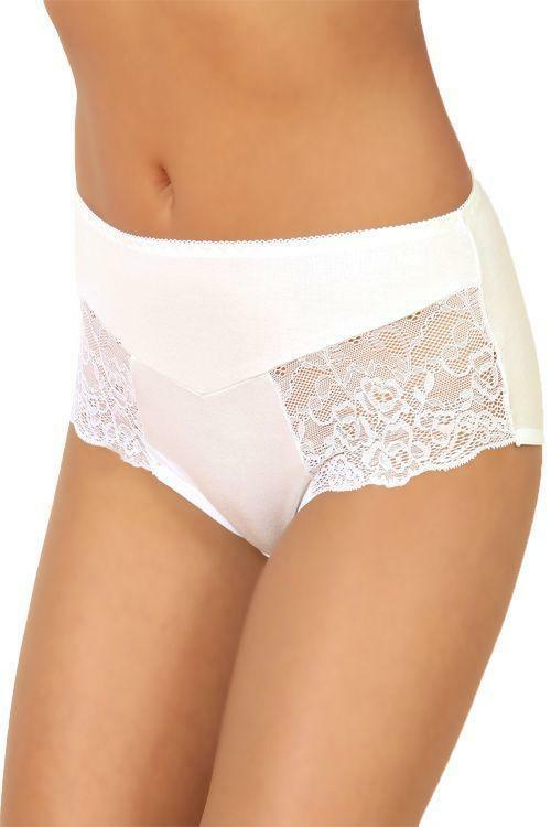 Dámské kalhotky 104 white - XL - bílá