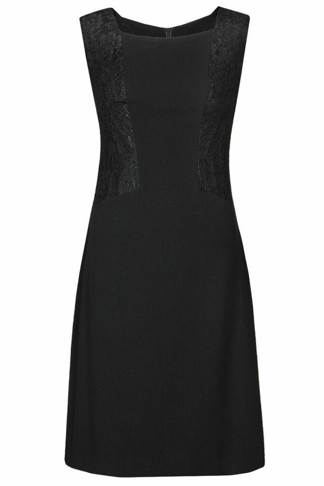 Dámské šaty FSU767 - Fokus - 50 - černá