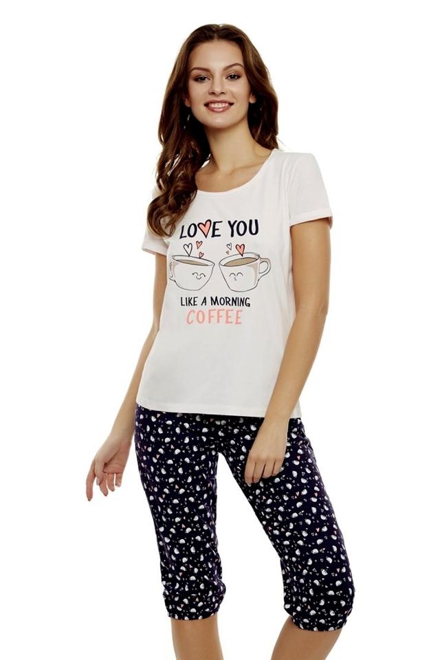 Dámské pyžamo 35832 Danni 03x - M - růžová