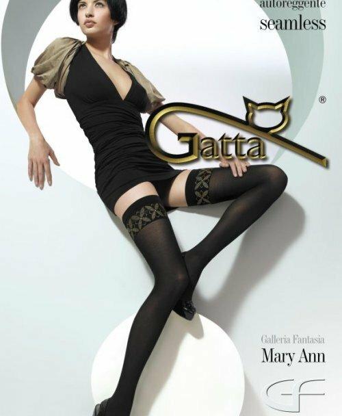 Punčochy samodržící Mary Ann 04 - Gatta
