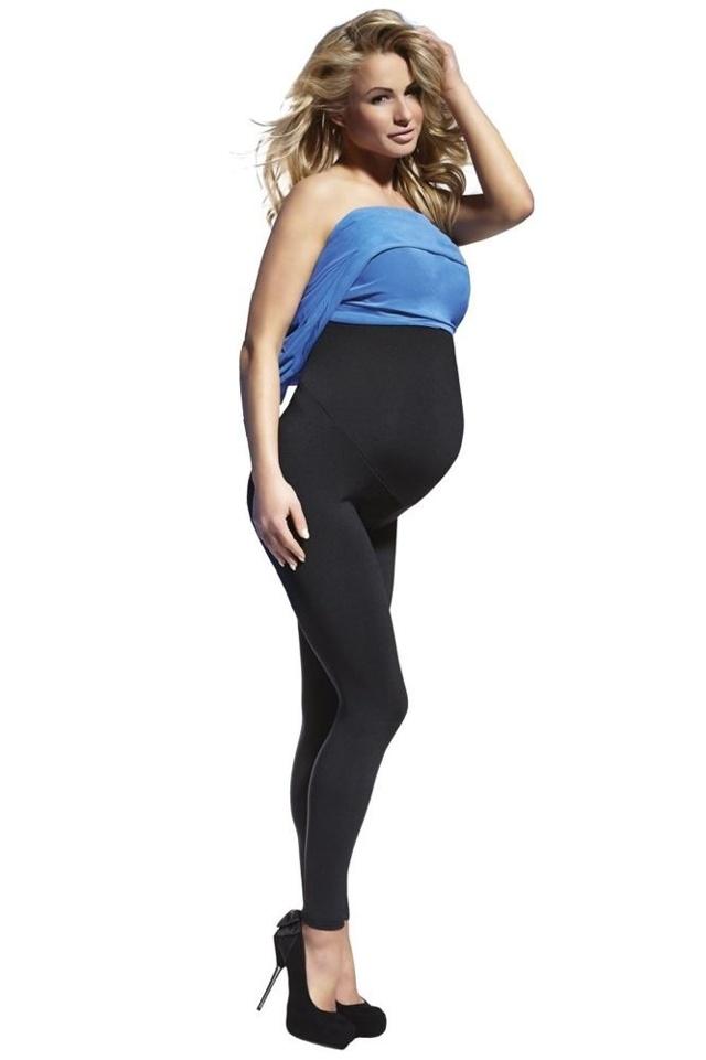 Těhotenské legíny Anabel 200 DEN černé - L