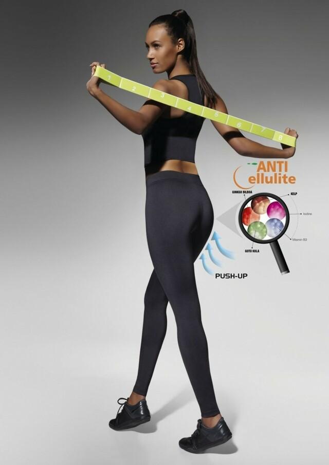 Fitness legíny Riley - S - černá