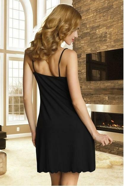 Noční košile Eldar First Lady Bona - XL - černá