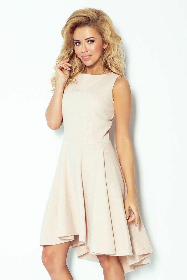 Dámské šaty Numoco model 58633 SAF - M - béžová 450fc84a1d