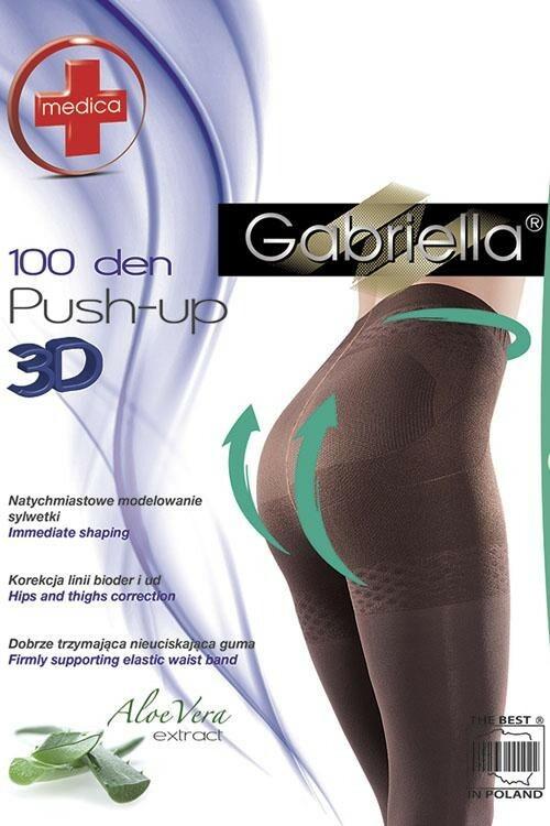 Dámské punčochy Medica Push-up 100 DEN Code 171 - Gabriella