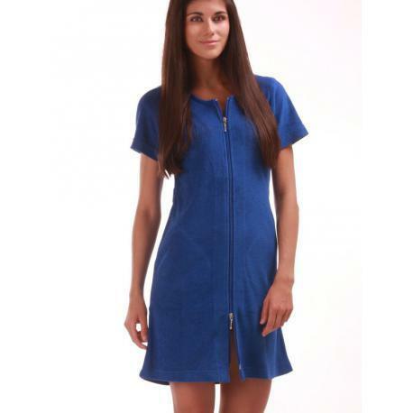 3/4 šaty se zipem Bari 5106405751 Vestis - L - sv.modrá